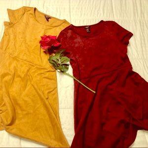 Girls Forever 21 👗👗Velvet Dress Bundle 👗👗